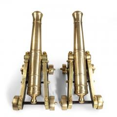 Pair of Bronze Cannon by McAndrew English circa 1850 - 1164842