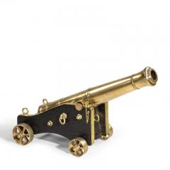Pair of Bronze Cannon by McAndrew English circa 1850 - 1164845