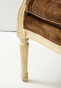 Pair of Brown Louis XVI Style Berg res - 1300061