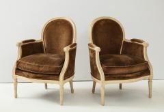 Pair of Brown Louis XVI Style Berg res - 1300063