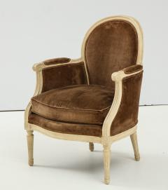 Pair of Brown Louis XVI Style Berg res - 1300065