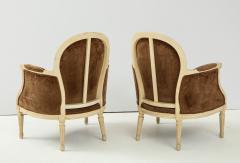 Pair of Brown Louis XVI Style Berg res - 1300066