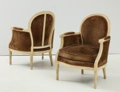 Pair of Brown Louis XVI Style Berg res - 1300068