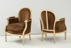 Pair of Brown Louis XVI Style Berg res - 1300069
