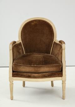 Pair of Brown Louis XVI Style Berg res - 1300070