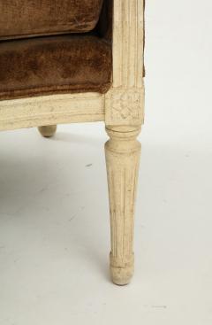 Pair of Brown Louis XVI Style Berg res - 1300072