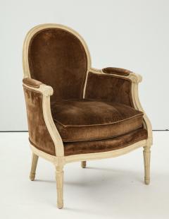Pair of Brown Louis XVI Style Berg res - 1300073