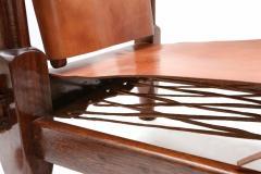Pair of Brutalist Safari Chairs - 265121