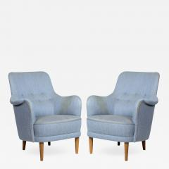Pair of Carl Malmssten Samsass Chairs - 571217