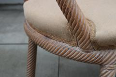 Pair of Carved Armchairs by Arpex - 1853615
