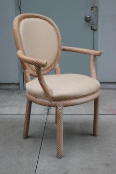 Pair of Carved Armchairs by Arpex - 1853617