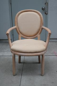 Pair of Carved Armchairs by Arpex - 1853619