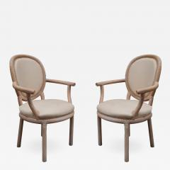 Pair of Carved Armchairs by Arpex - 1853946