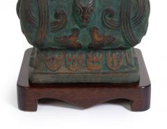 Pair of Cast Bronze Chinoiserie Table Lamps - 775389