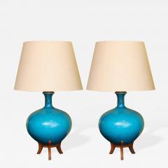 Pair of Ceramic Lamps - 207087
