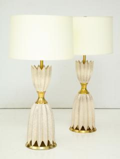 Pair of Ceramic Lamps by Gerald Thurston for Lightolier  - 933798