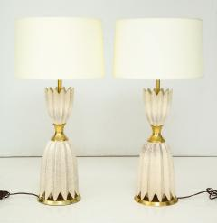 Pair of Ceramic Lamps by Gerald Thurston for Lightolier  - 933799