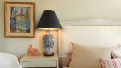 Pair of Ceramic Urn Lamps - 1649435