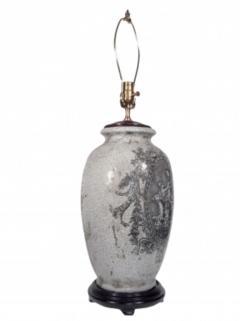 Pair of Ceramic Urn Lamps - 1649437