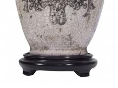 Pair of Ceramic Urn Lamps - 1649441