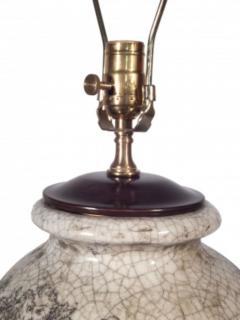 Pair of Ceramic Urn Lamps - 1649442