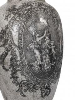 Pair of Ceramic Urn Lamps - 1649444