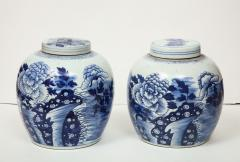 Pair of Chinese Export Ginger Jars - 1311257