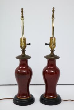 Pair of Chinese Export Lamps - 1734824