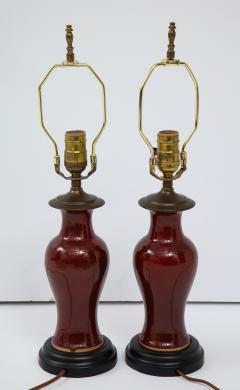 Pair of Chinese Export Lamps - 1734825