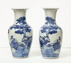 Pair of Chinese Export Vases - 1311187