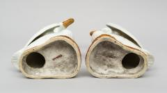 Pair of Chinese Porcelain Ducks on Stands - 267251
