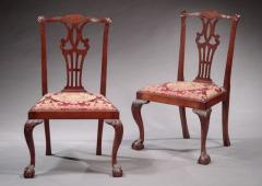 Pair of Chippendale Side Chairs - 337912
