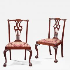 Pair of Chippendale Side Chairs - 338104