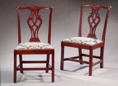 Pair of Chippendale Side Chairs - 341598