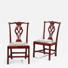 Pair of Chippendale Side Chairs - 341889