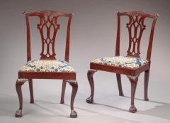 Pair of Chippendale Side Chairs - 477876