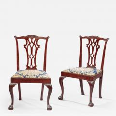 Pair of Chippendale Side Chairs - 478345