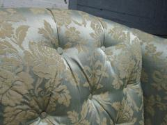Pair of Chippendale Style Tufted Wingback Chairs - 1316497