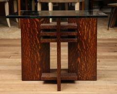 Pair of Constructivist Side Tables - 1280883