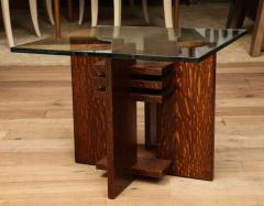 Pair of Constructivist Side Tables - 1280885