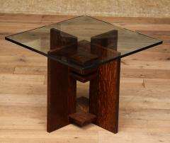 Pair of Constructivist Side Tables - 1280887