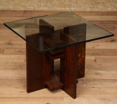 Pair of Constructivist Side Tables - 1280888