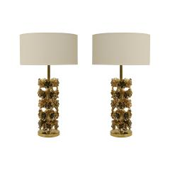 Pair of Contemporary Italian Brass Table Lamps - 1988819