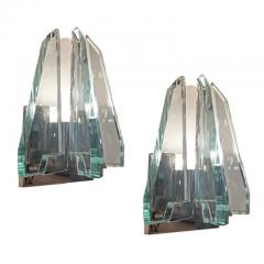 Pair of Cristal Art Wall Lights - 788679