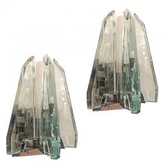 Pair of Cristal Art Wall Lights - 788680