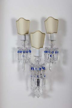 Pair of Crystal Sconces France 1930s - 1525507