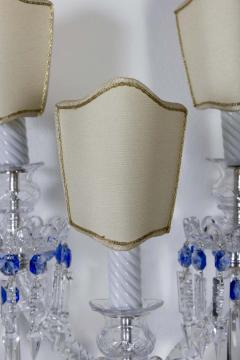 Pair of Crystal Sconces France 1930s - 1525524