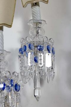 Pair of Crystal Sconces France 1930s - 1525553