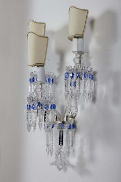 Pair of Crystal Sconces France 1930s - 1525555