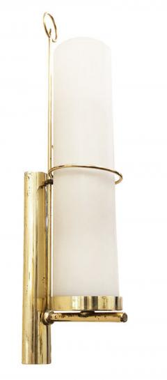 Pair of Cylindrical Mid Century Wall Lights - 1147843